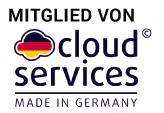 Mitglied in der Iniative Cloud Services - Made in Germany